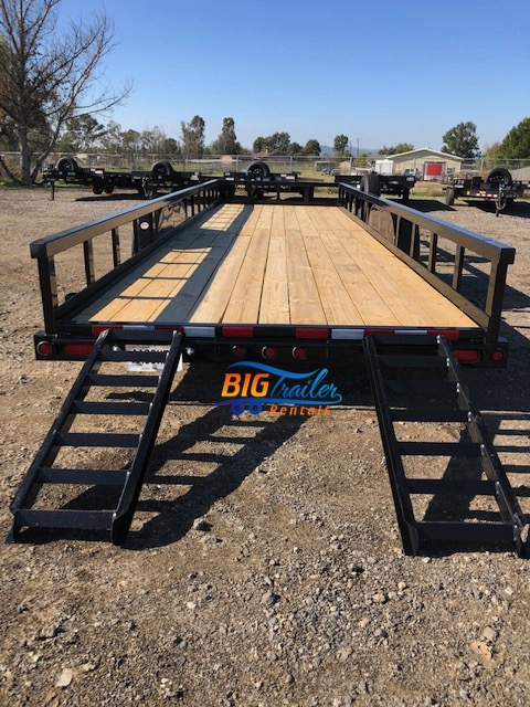 26' Utility Trailer for Rent