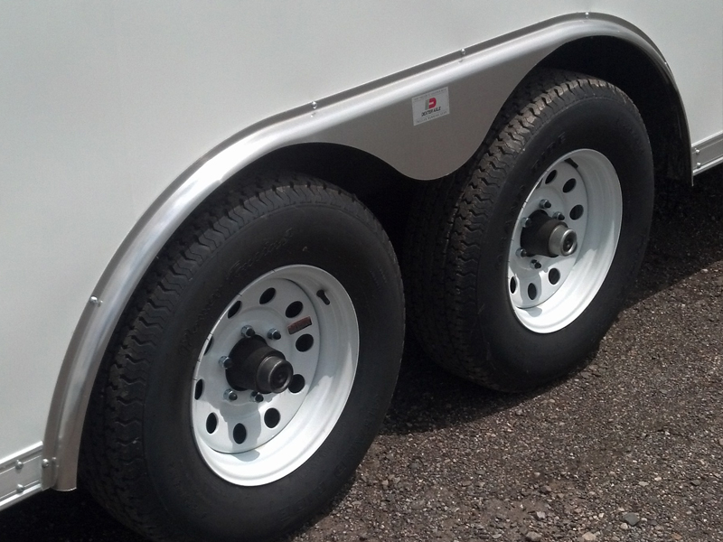 Fender Skirt for Pace Enclosed Trailer