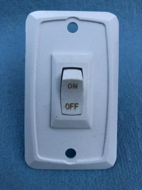 Light Switch for Pace Enclosed Trailer
