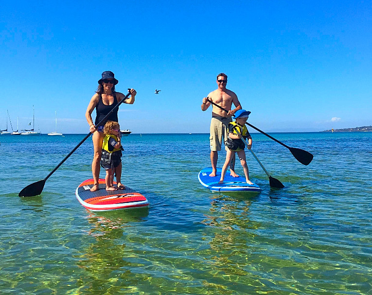 Stand Up Paddle board SUP hire Mornington Peninsula Melbourne