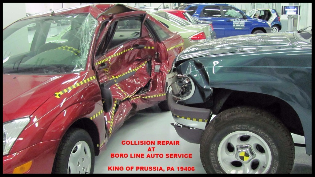 Collision Repair at Boro Line Auto Service