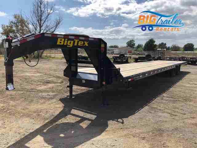 Big Tex Gooseneck Rental