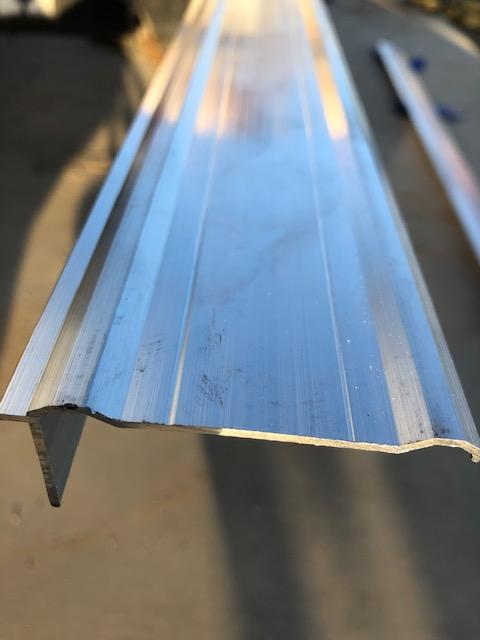 "Aluminum Trim 2.5"" for Pace Trailer"