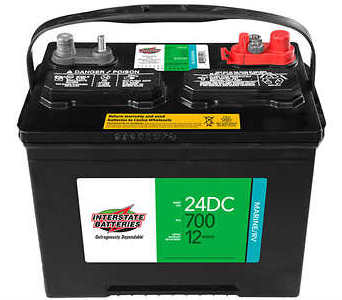 24DC Marine Deep Cycle Battery