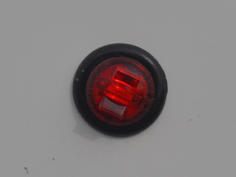Red LED Bullet Light 3/4""