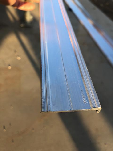 "Aluminum Trim 1.5"" for Pace Trailer"