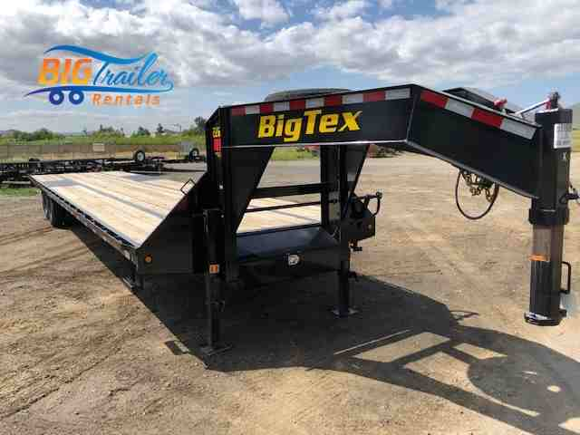 Big Tex Flatbed Rental